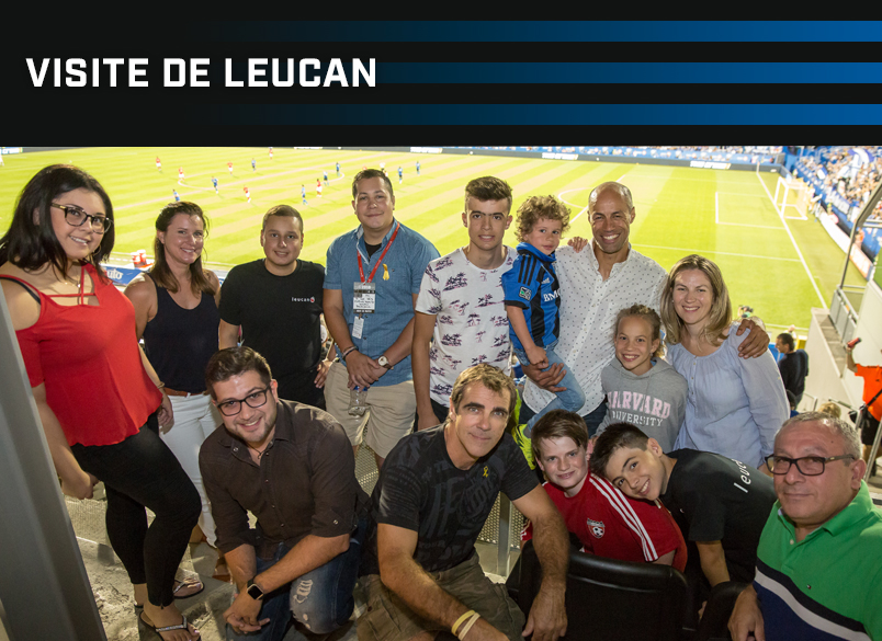 VISITE DE LEUCAN