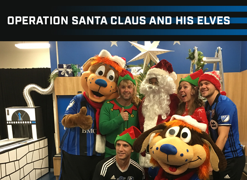 Operation Santa Claus and his Elves