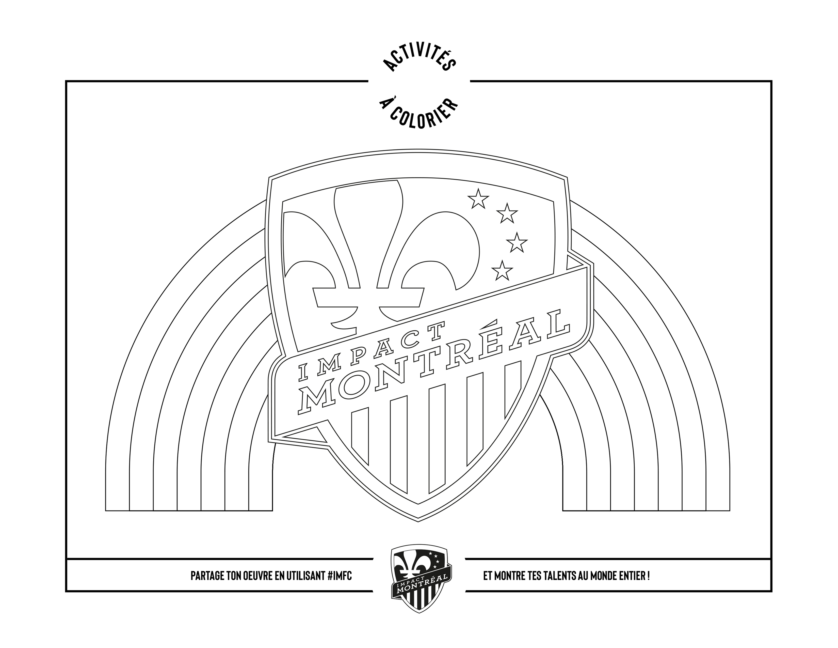 Coloriage Montreal Impact