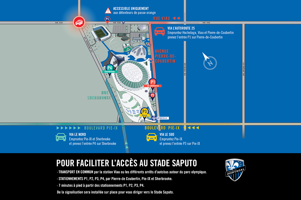 directions stade